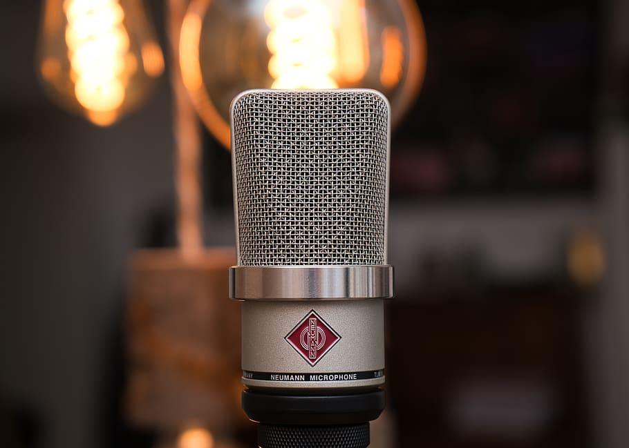 lage hjemmestudio mikrofon